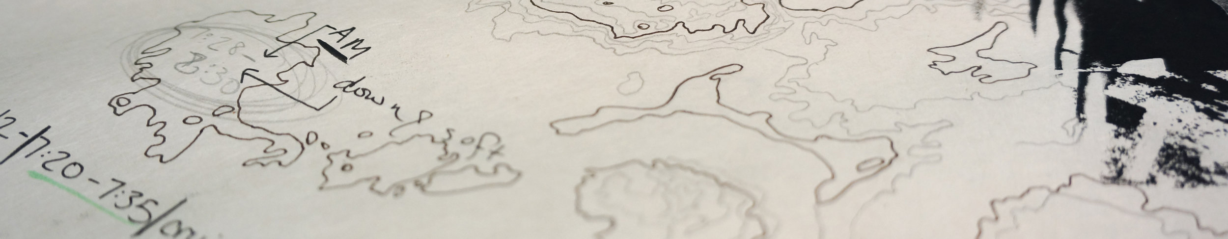 Manifold Landscapes, drawing, 2018-2019.