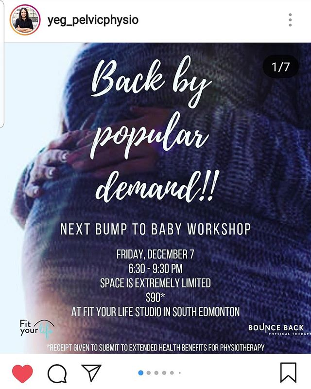 🏃🏽‍♀️AS FAST AS YOU CAN! Sign up!!✒📋 . . Jill and I met as new moms.  Since then, she has birthed three more babies 🤰 (including a vaginal unmedicated birth of twins!) and now runs a successful pelvic floor physio practice. @yeg_pelvicphysio . . Her workshops are AMAZING, she is succinct, well-informed and compassionate. If you have extended health benefits, you can even claim the cost of the workshop!! . . Sign. Yourself. Up!!! 🗳 . . . . . #yeg #yegmoms #yegbaby #yegbabies #yegbiz #yeghealth #pelvicfloor #physio #physiotherapy #expertadvice #informedbirth #maternalcare #motherhood #maternity #mybody