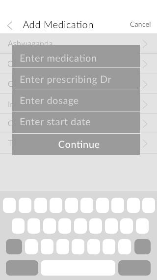Copy of Medications - add