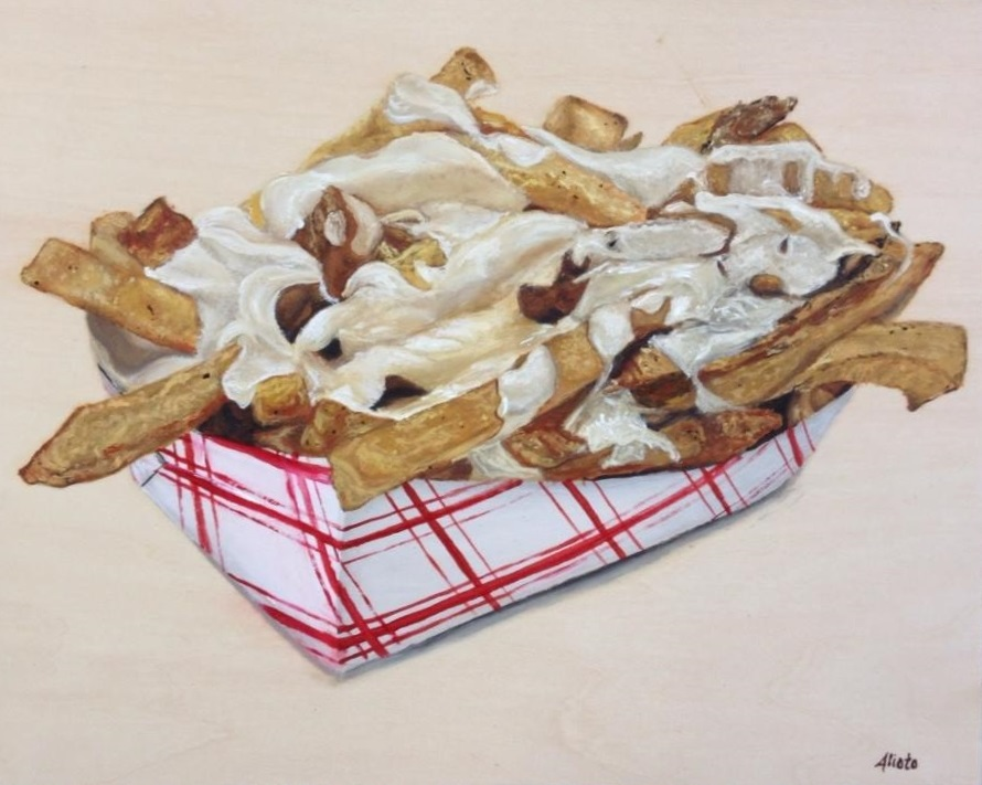 Chees fries. Oil on Wooden panel. 8x10.jpg