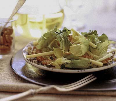 Escarole&Comte Salad