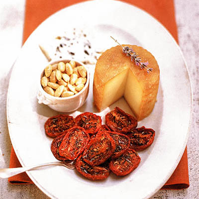 Oven-dried Tomatoes & Cheese