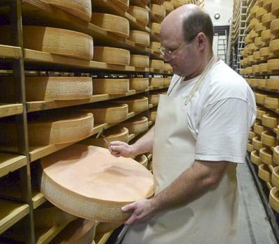 Sound test: cheesemaker Michael Spycher