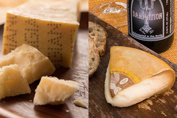 Raw-milk gems: Parmigiano-Reggiano and Cabricharme