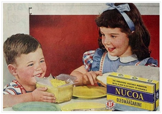 """Oleo fever: Margarine was illegal in Wisconsin for four decades. Residents would drive to Illinois on """"oleo runs."""""""