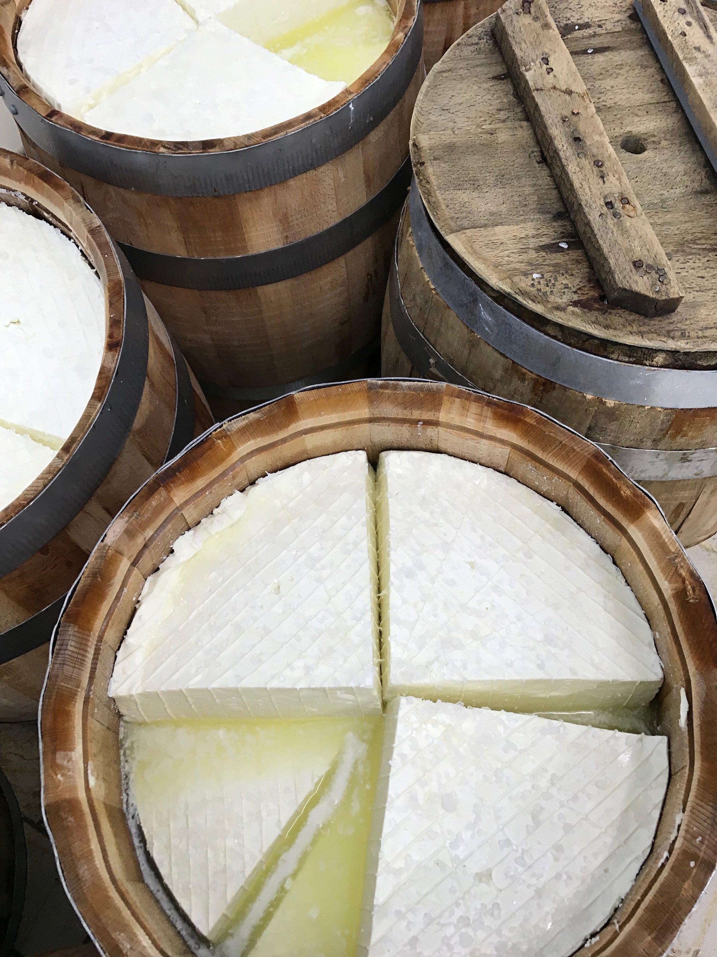 Barrel-Aged Greek Feta