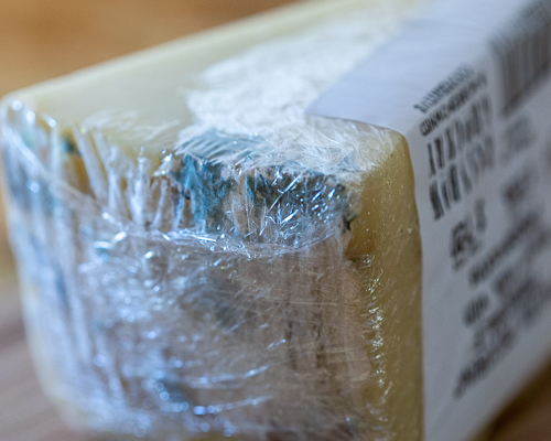 Plastic wrap: Friend of mold, enemy of cheese