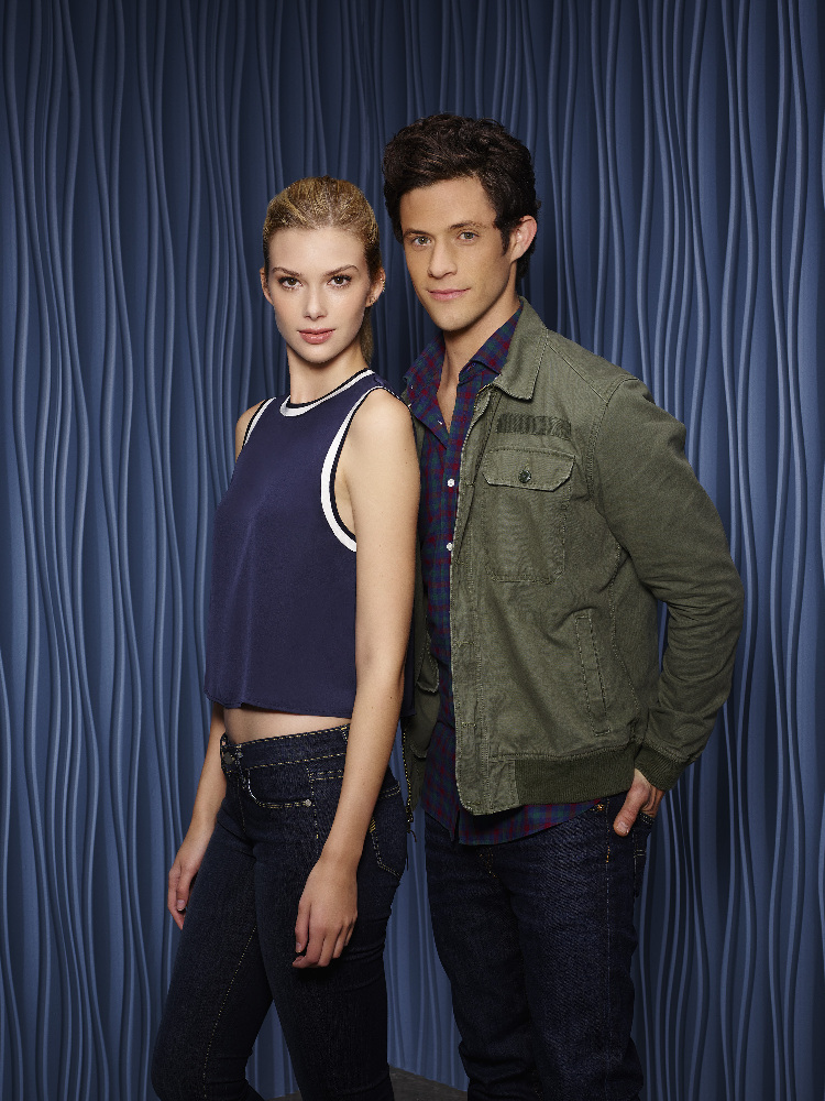 "Emma Ishta (left) and Kyle Harris (right) play lead characters Kirsten and Cameron, affectionately referred to as ""Camsten"" by fans who want their characters to be in a relationship or ""ship""."