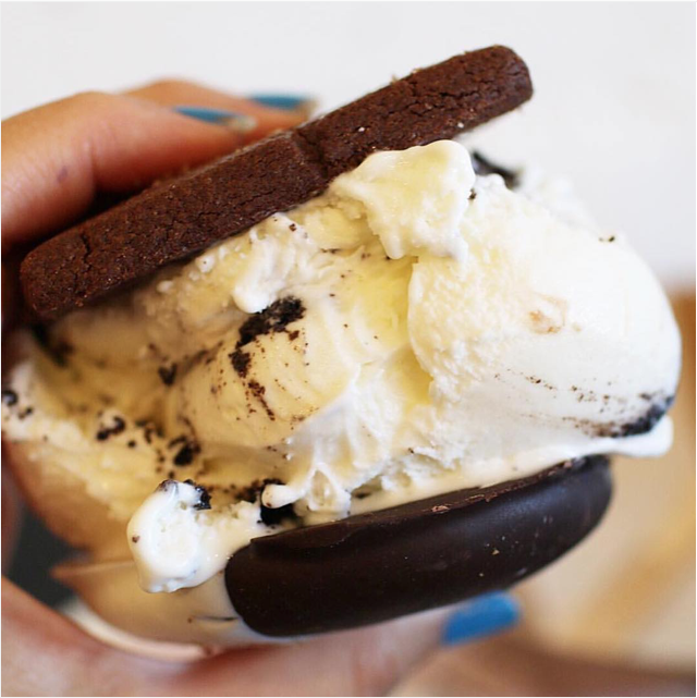 Cookies & Sweet Cream #IceCream + Old Fashioned and Black & White cookies