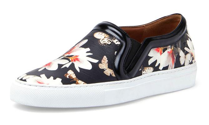 Floral Print Slip-On Sneaker  via