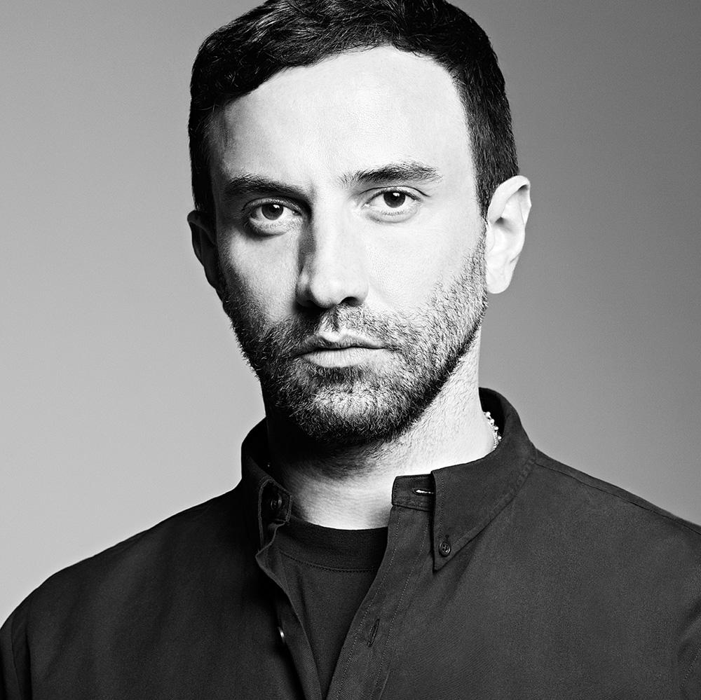 Ricardo Tisci of Givenchy. Image  via