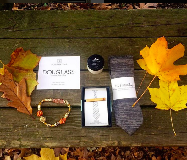 Dapper Black Box: a subscription service sends 3-4 accessories for men by Black owned businesses.