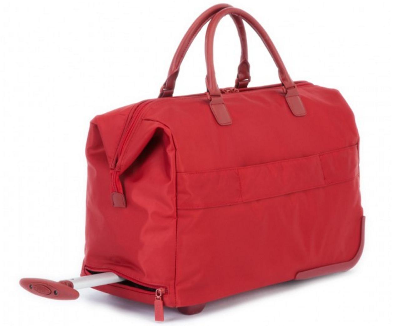2 wheeled satchel