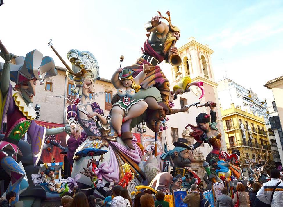 Las Fallas, Valencia