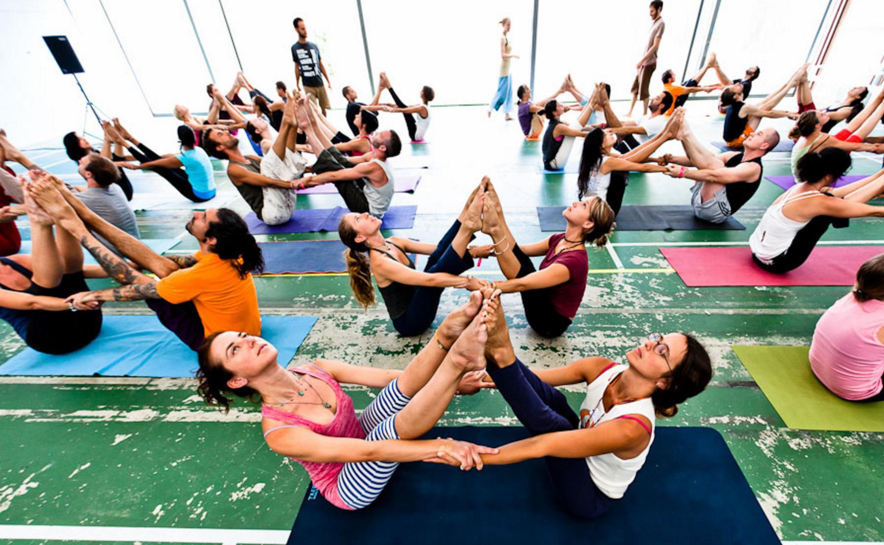Photo via  Barcelona Yoga Conference