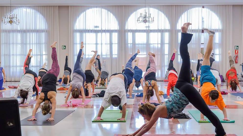 Photo via  Gran Canaria Yoga Conference