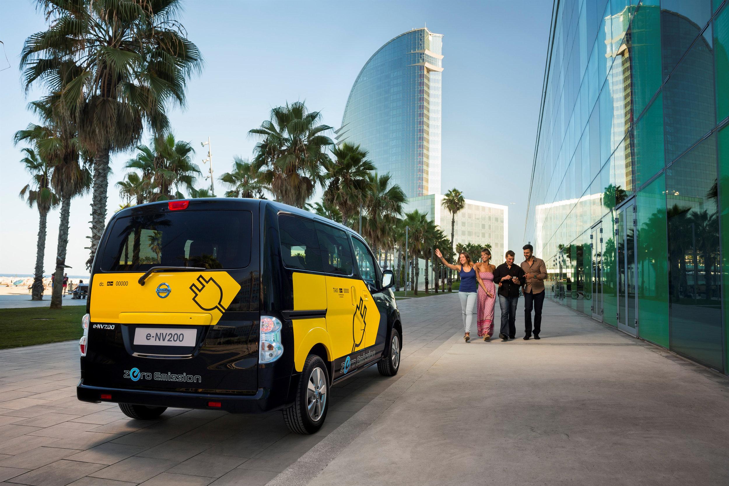 Barcelona Taxi LMDES