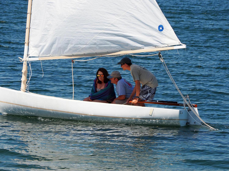 Sailing with Garth & Nora -July, 2014