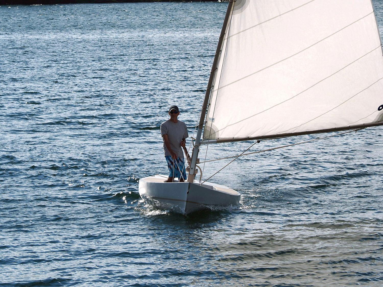 July, 2014 sailing Crazy Cat