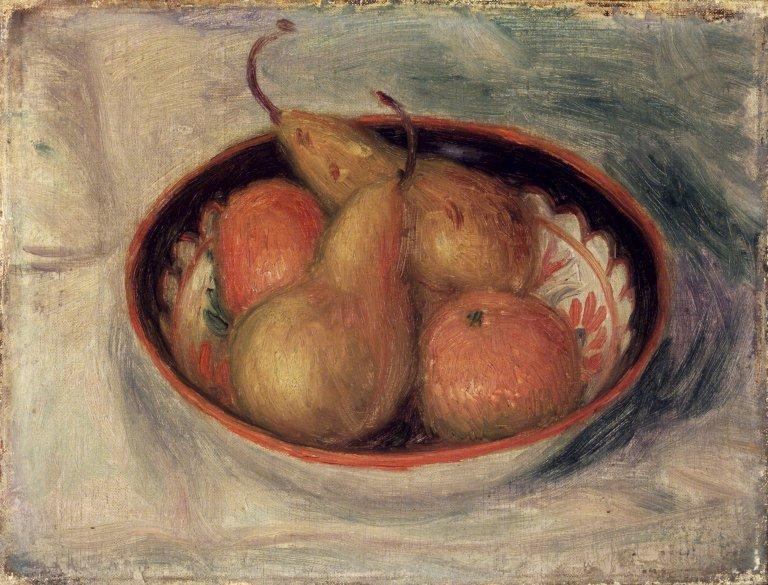 Pears and Oranges in a Bowl, 1915