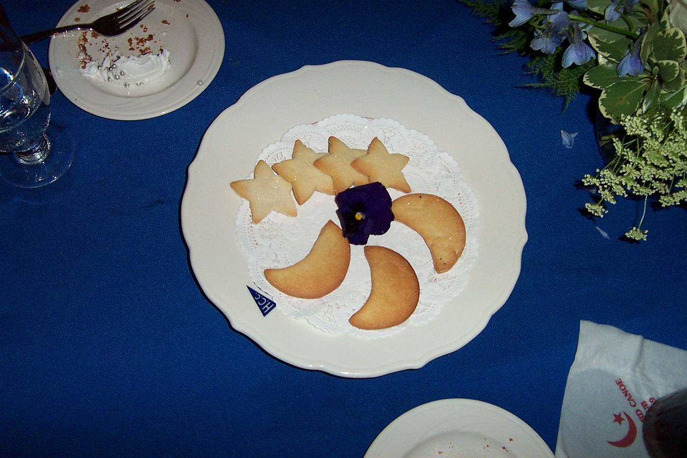 moon & star cookies!
