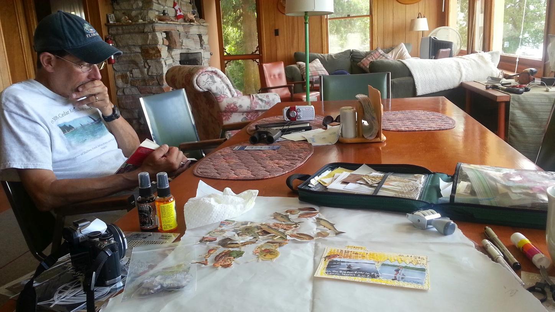 Inside the cottage 2014