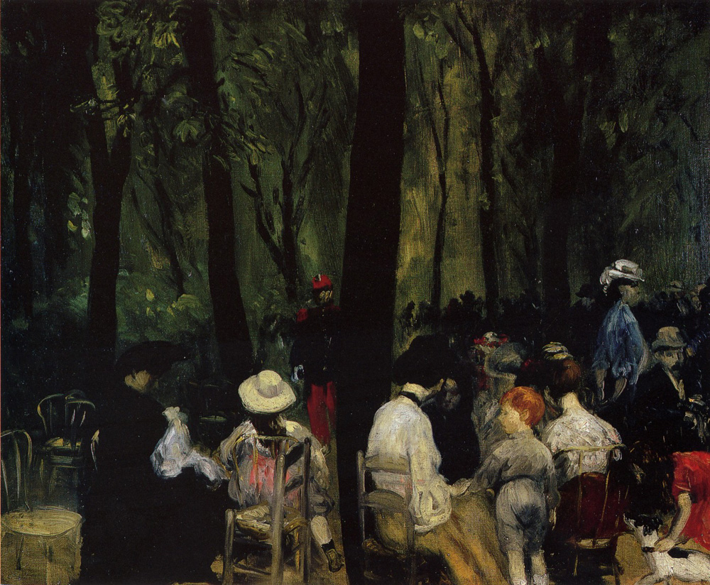 Under the Trees, 1906
