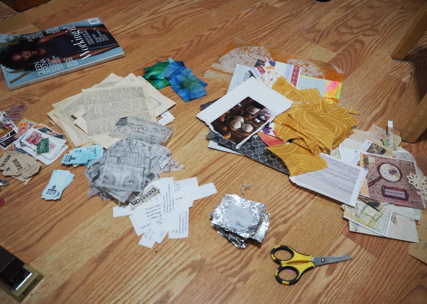 preparing the swap packets . . .