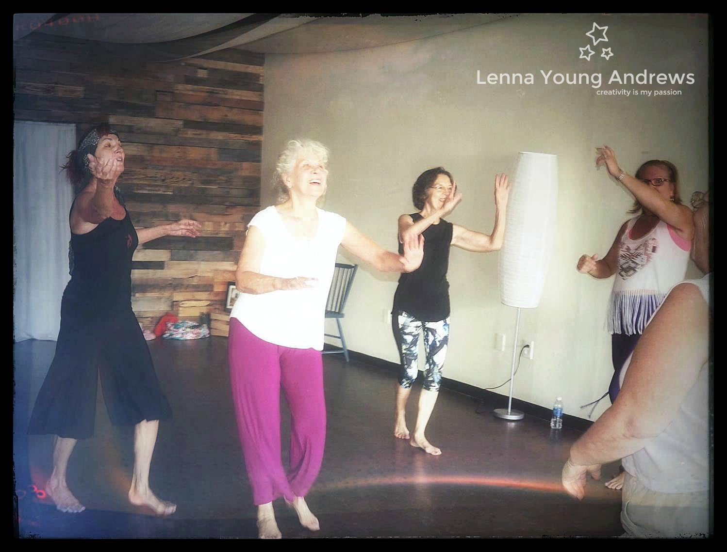 Becky's classes at Wild Ginger