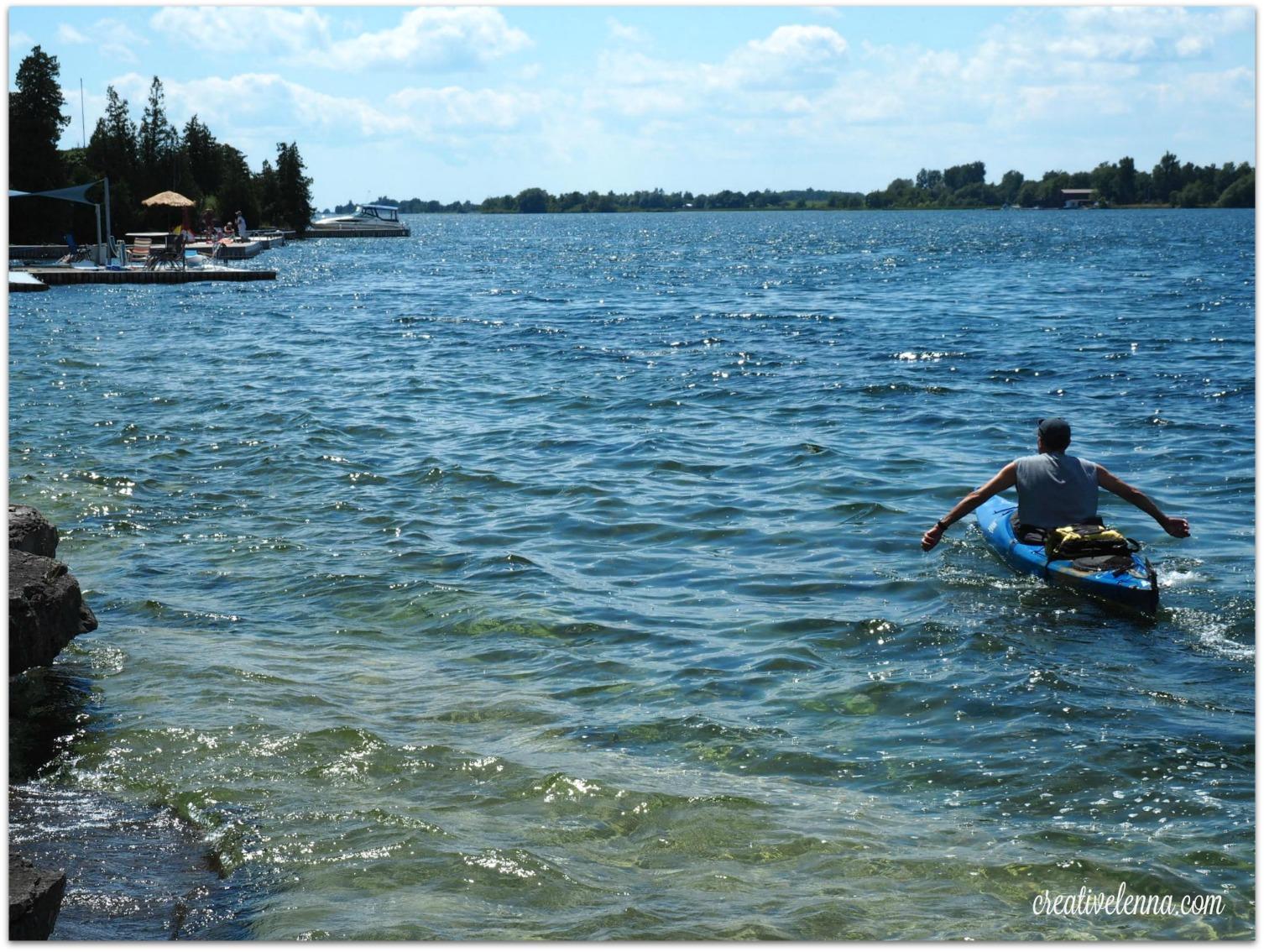 Steve paddling -2015