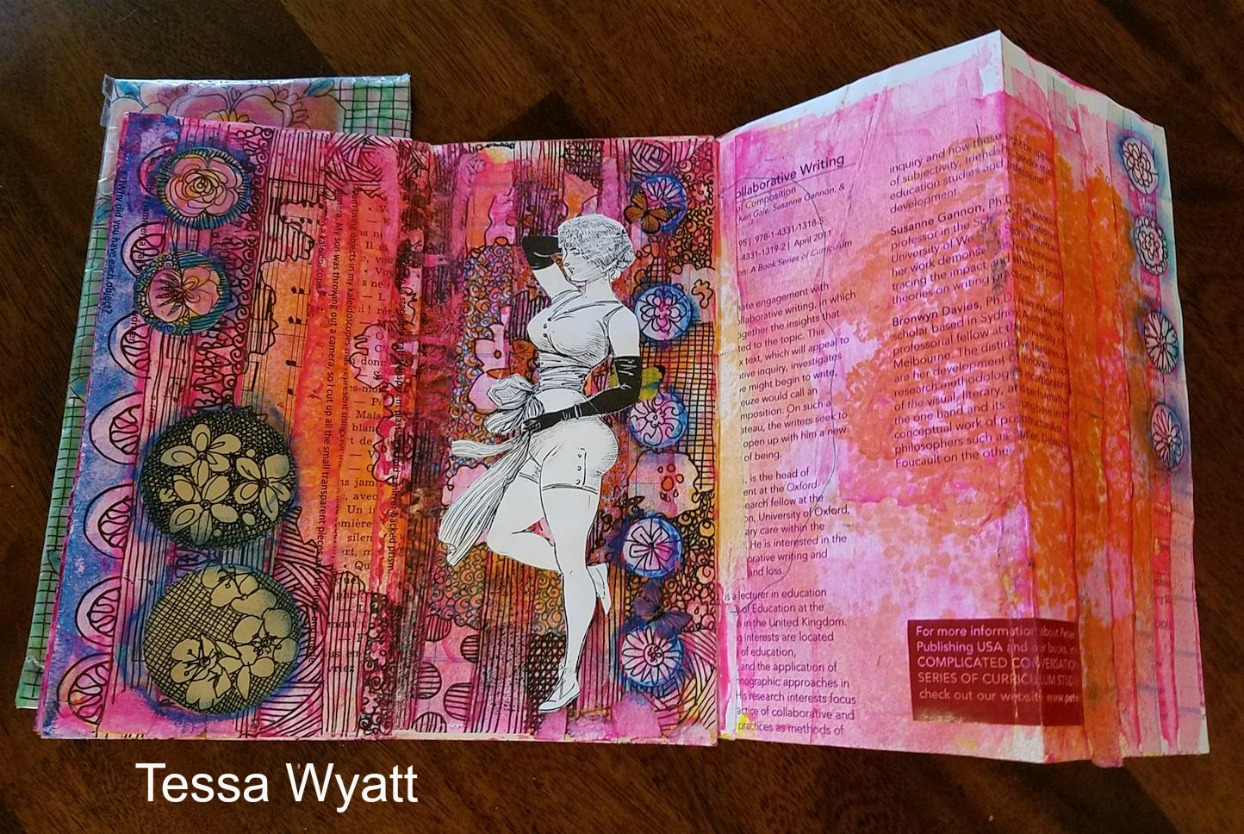 Letter Journal Fold out page!