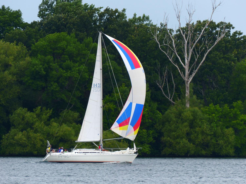 Lots of sailing
