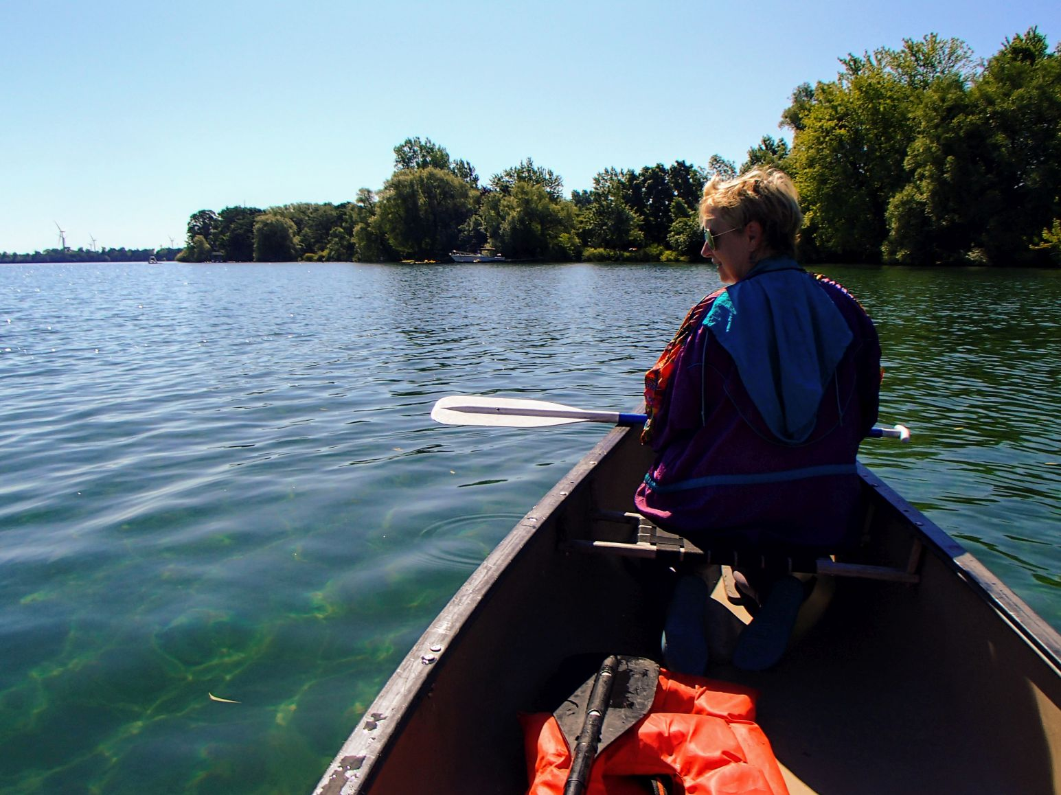 Canoeing the St Lawrence