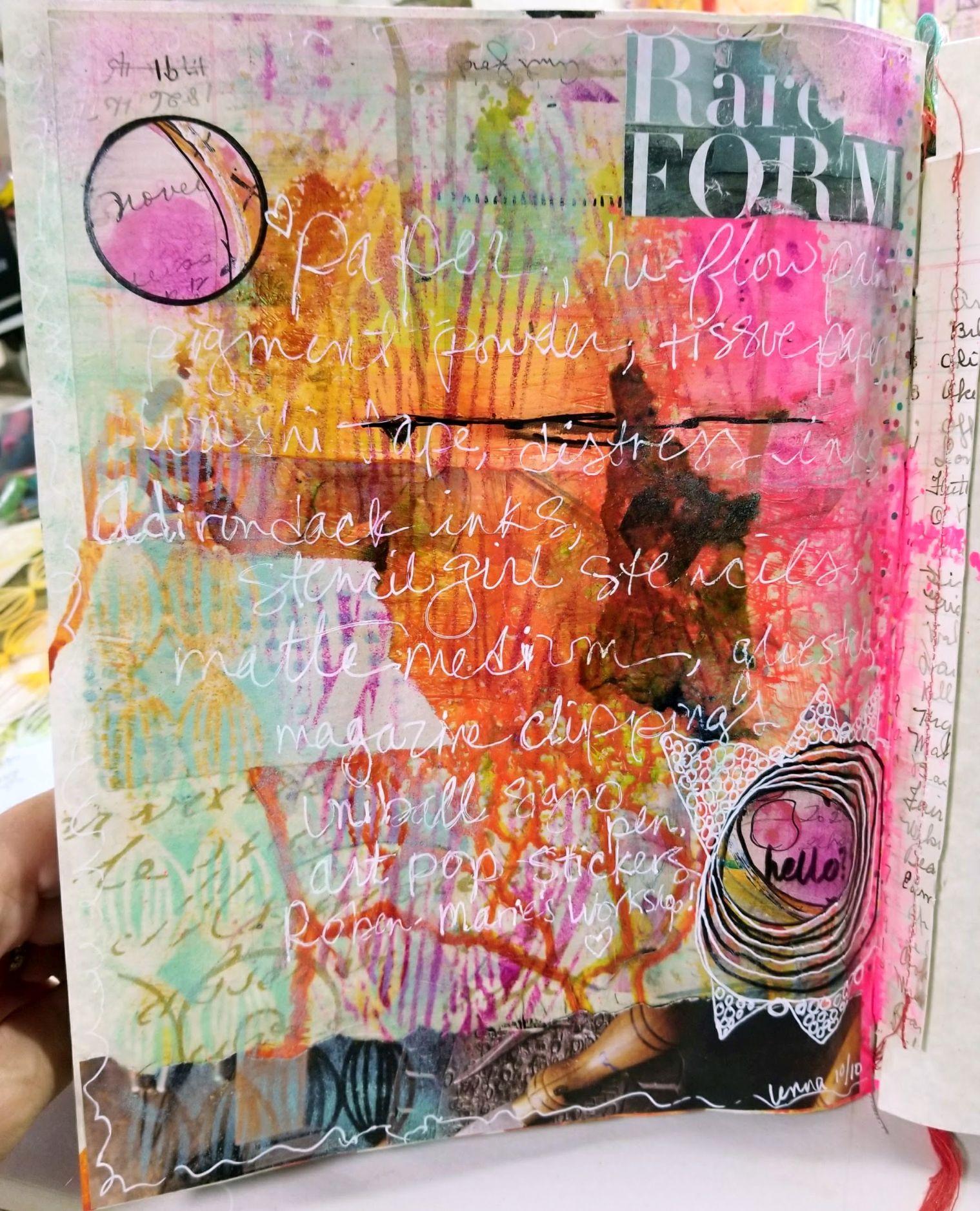 """""""art pop"""" circles by Roben-marie"""
