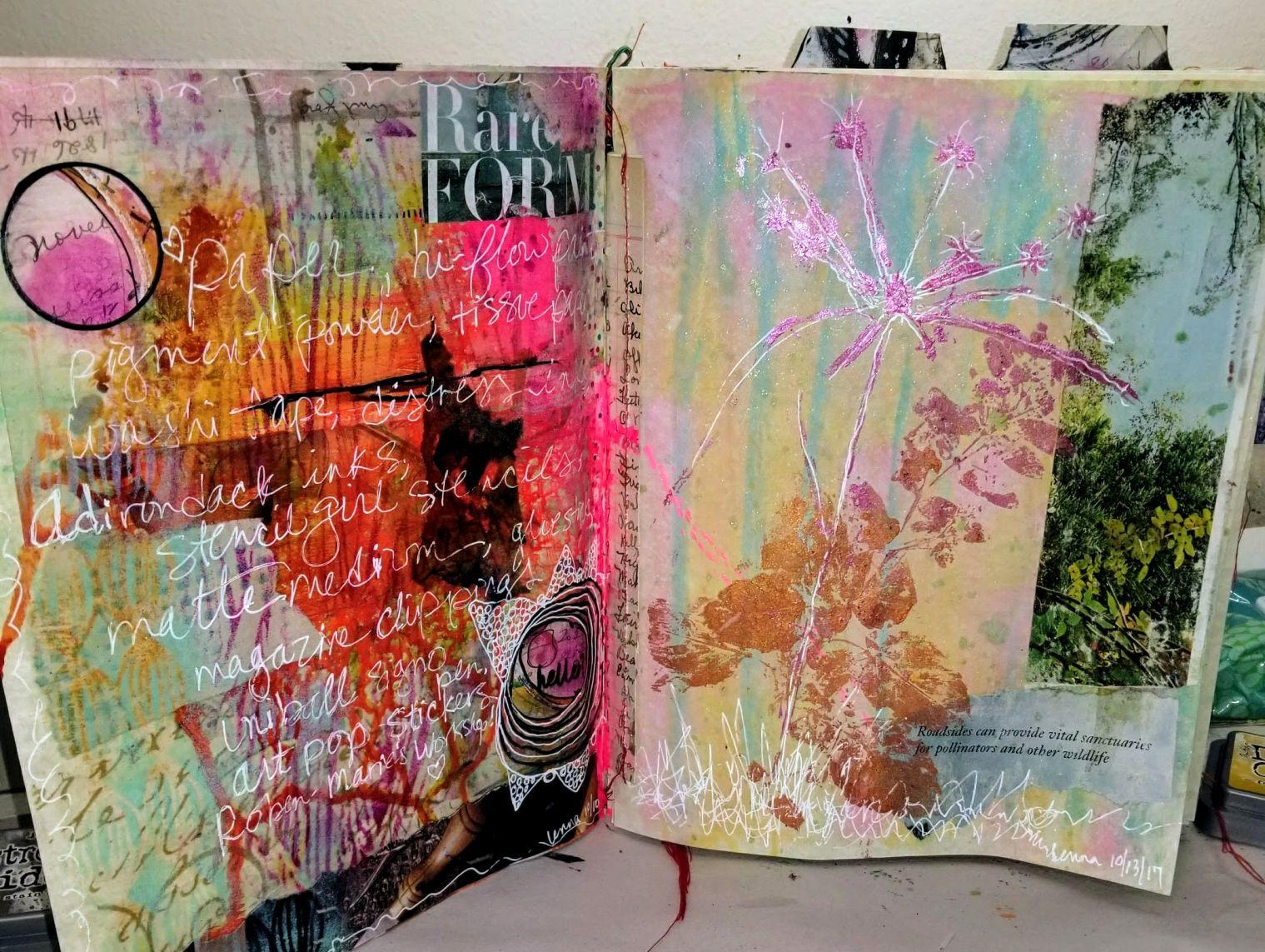 pg 2 plus pg 3: oxide ink background