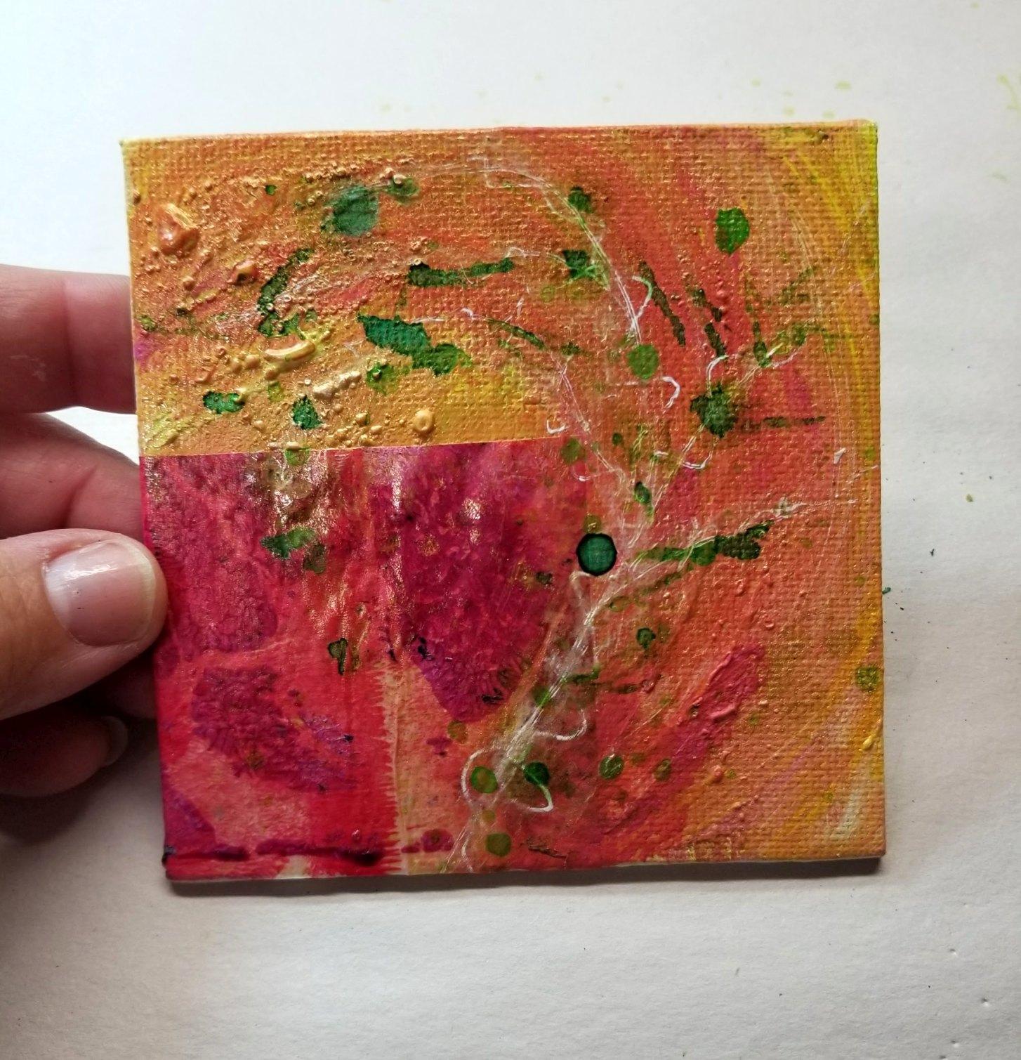 06. Swirl in pink & yellow