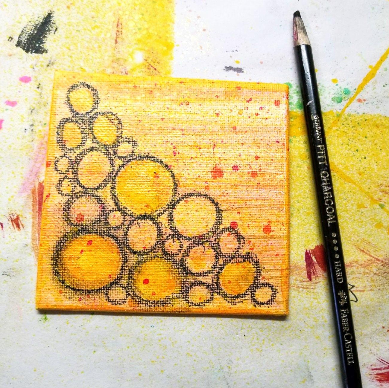10. charcoal pencil