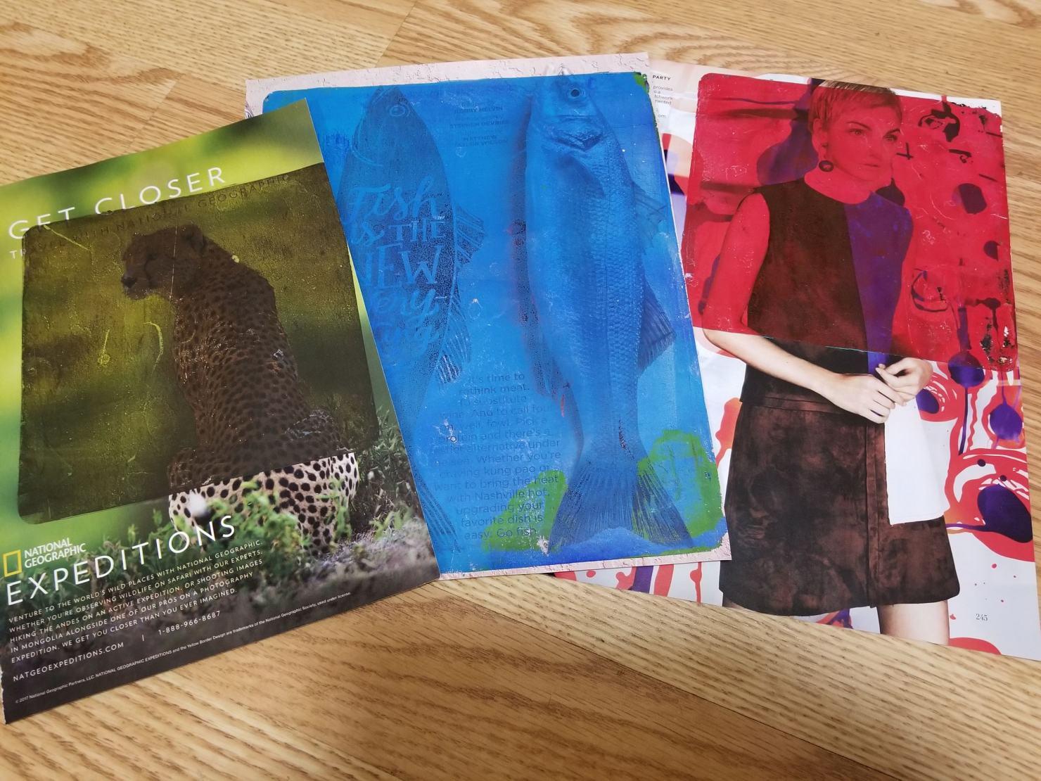 magazine images used