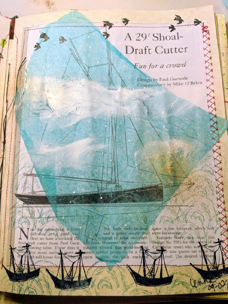 close up boat page