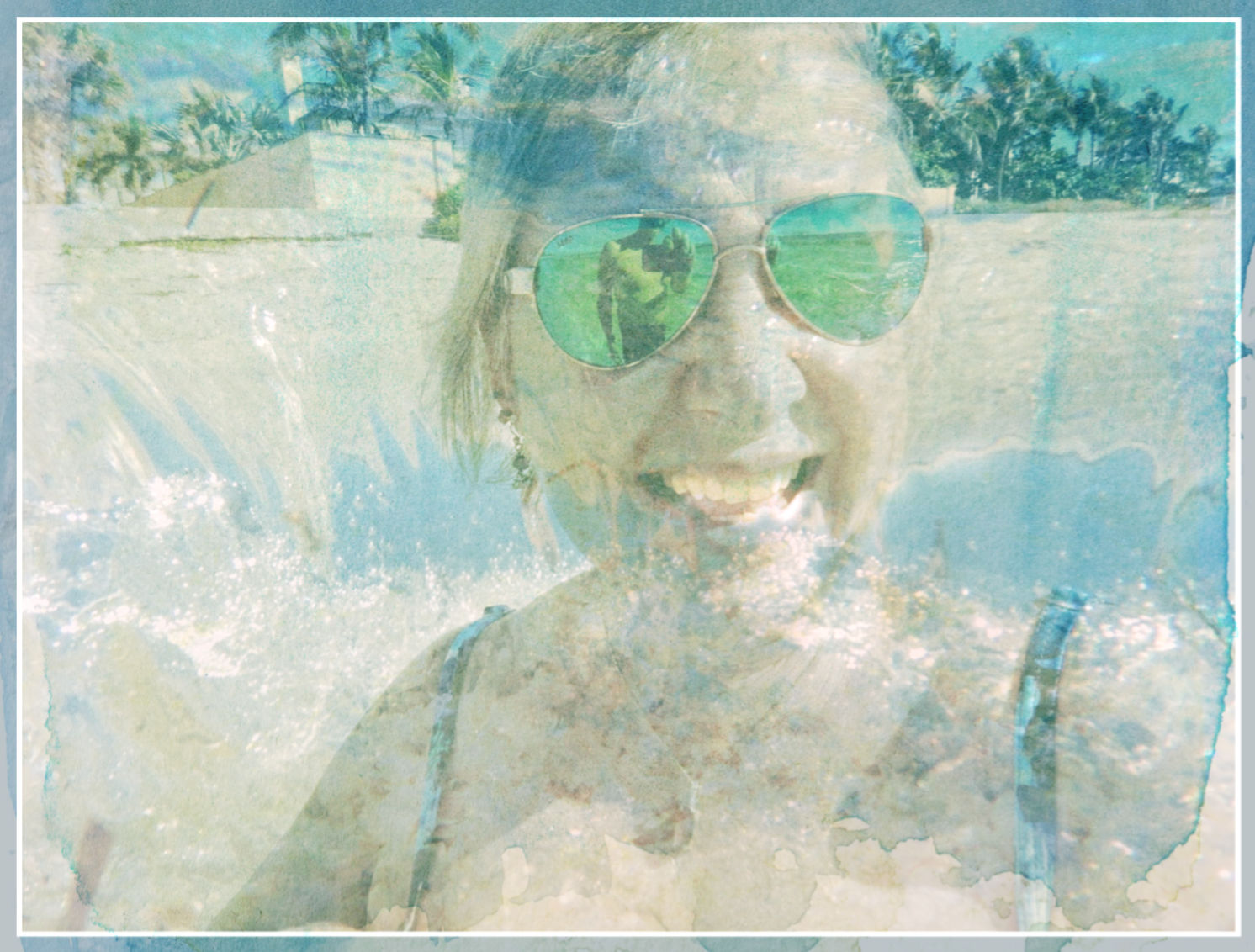 A double exposure from Boca Grande, photos by Steve