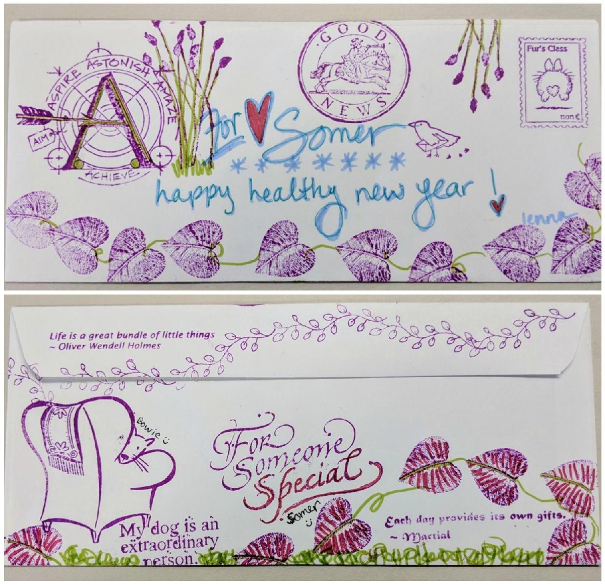 08: mail art