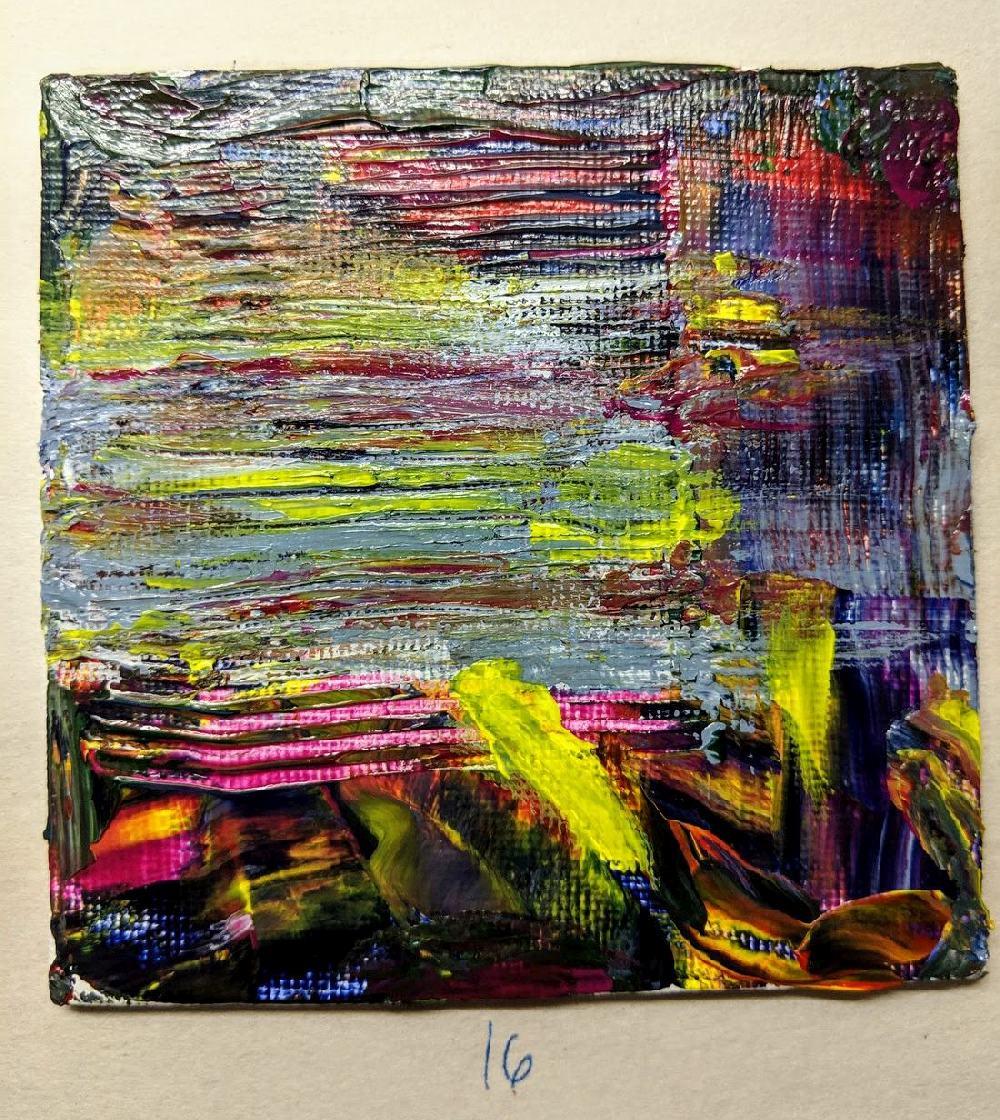 16: 4x4 canvas board