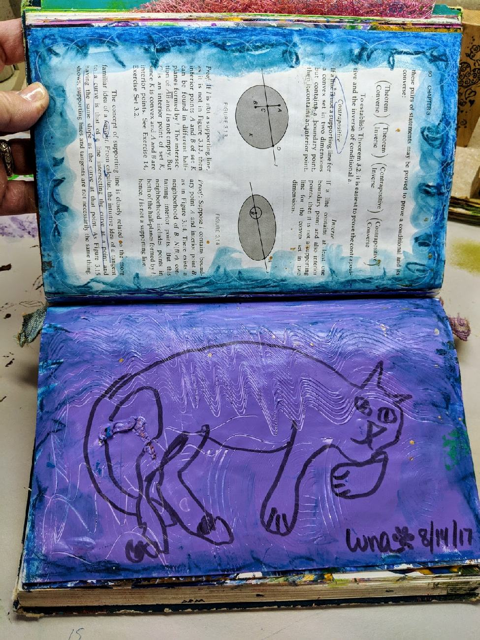 19: Altered Book