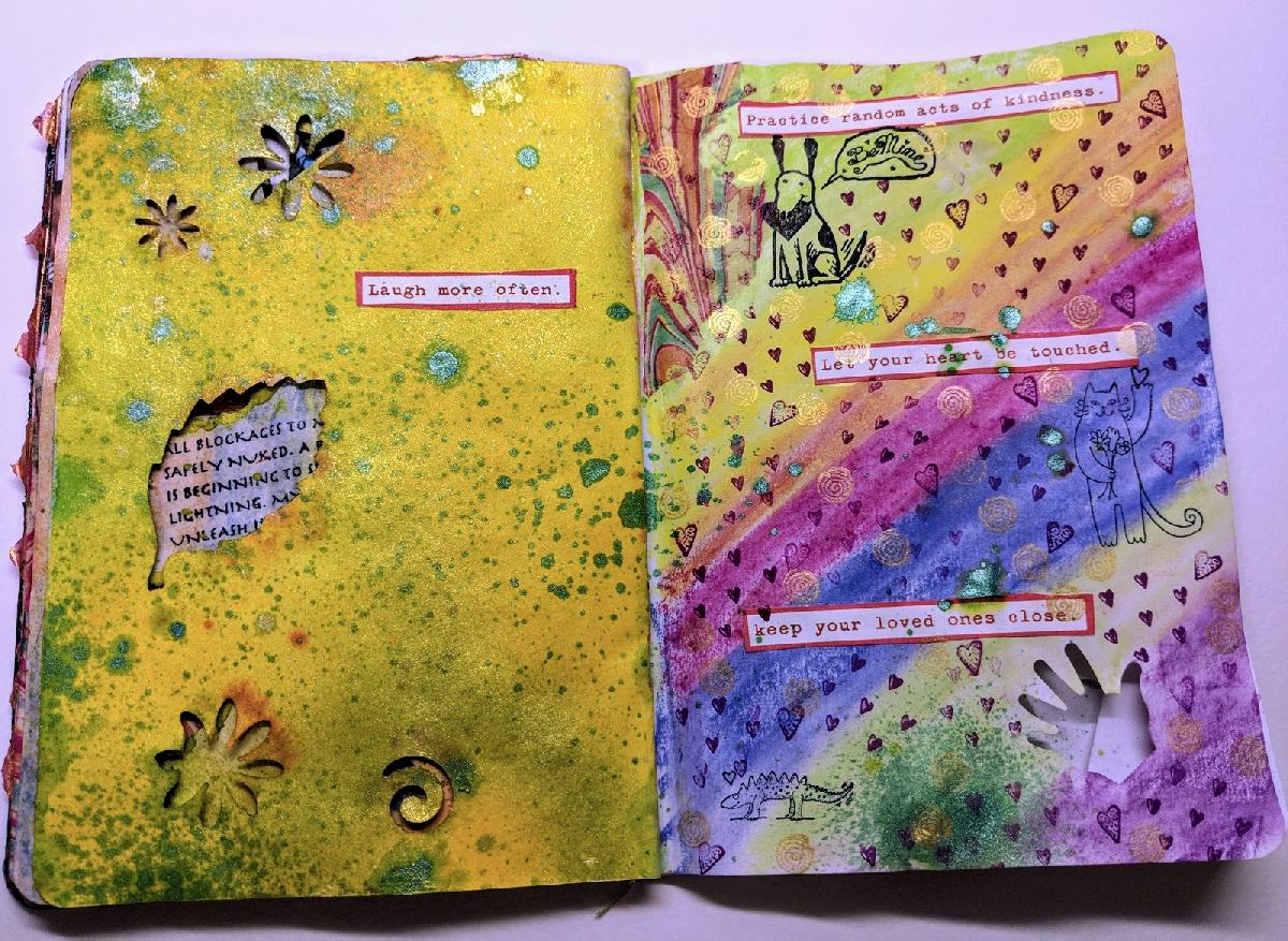 45&46: The Sketchbook Project