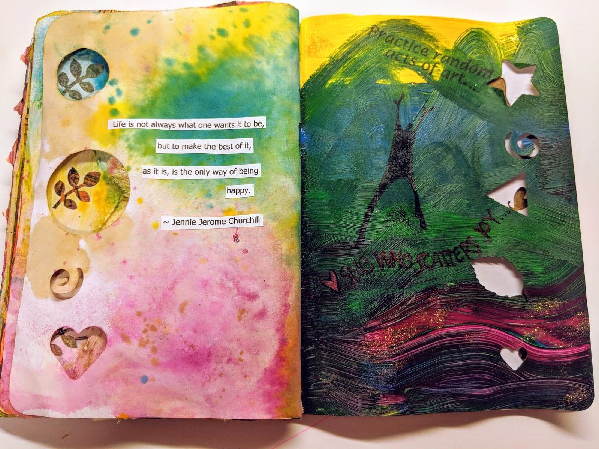 55+56: The Sketchbook Project