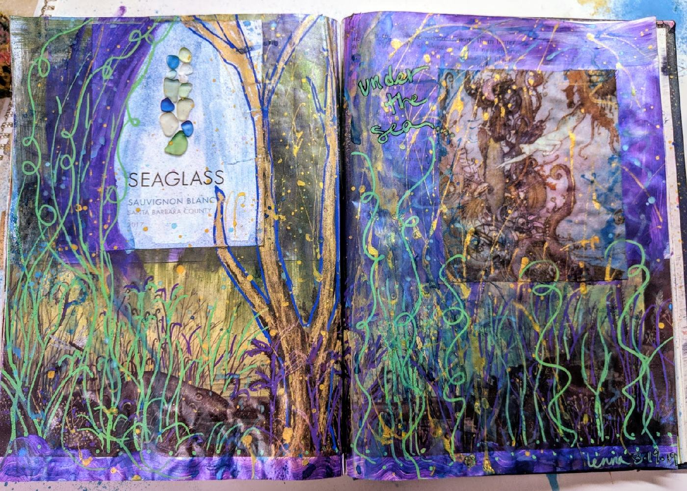 85+86: Altered Book