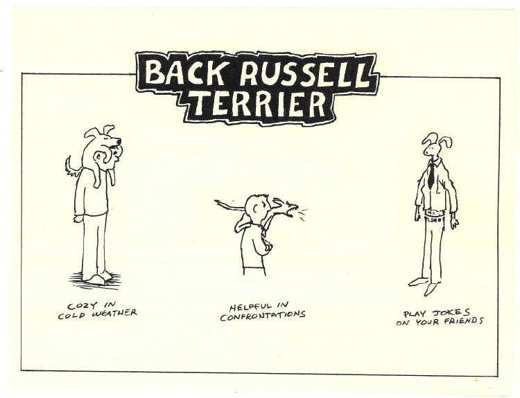 Back Russell Terrier 2005