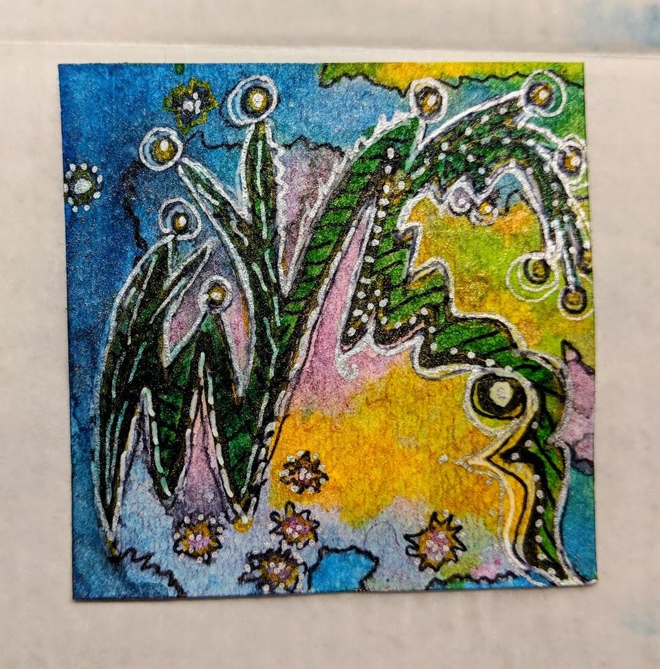 98: 3x3 ink & doodles