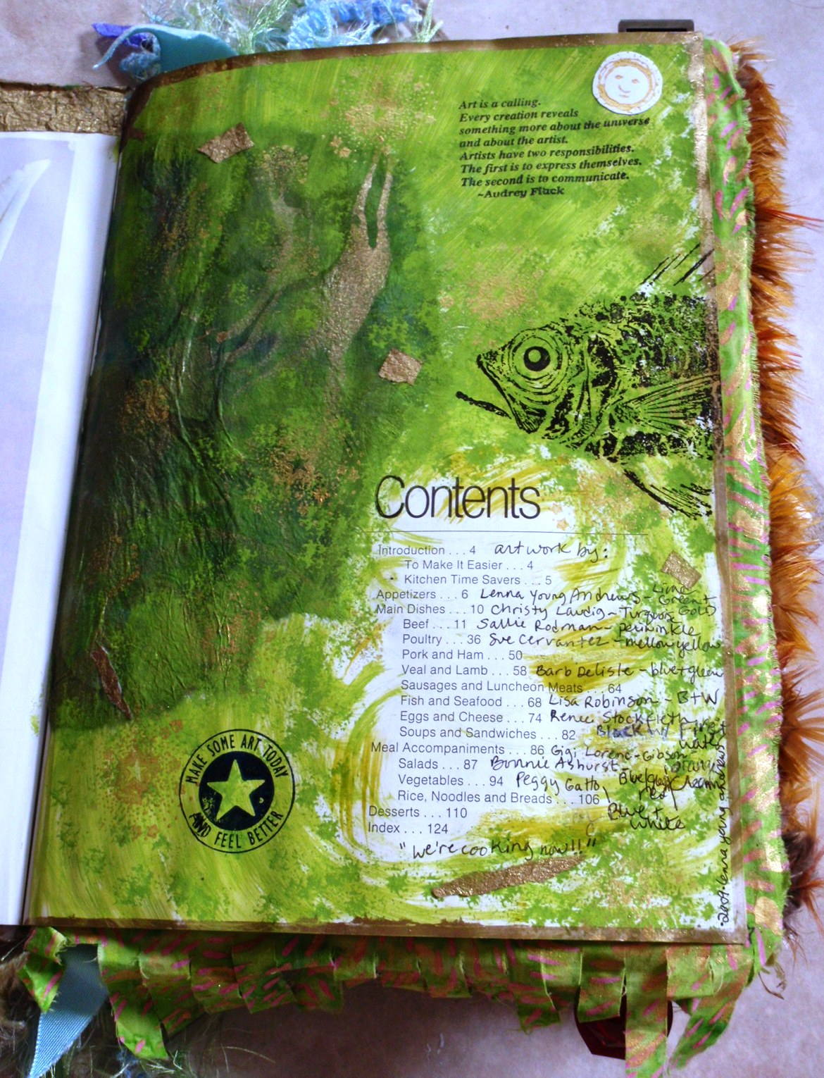 2009: Altered Cookbook for exchange