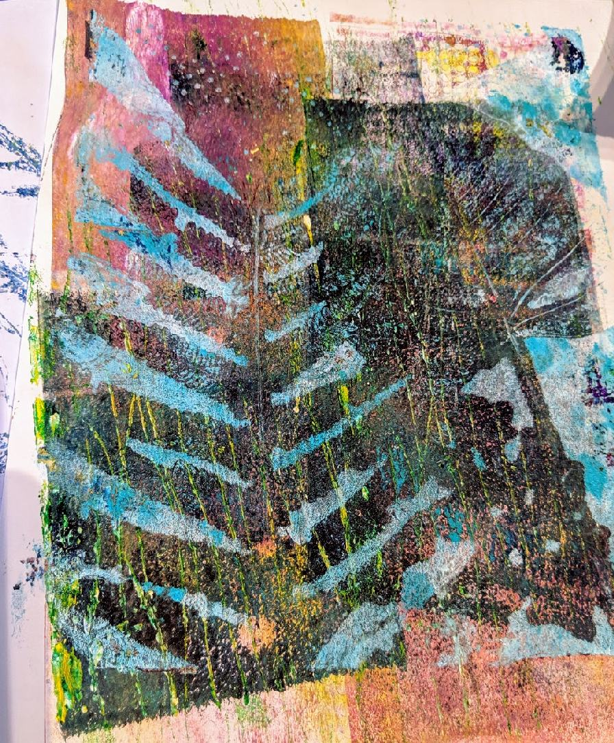 140: Nature Print/Gel Plate